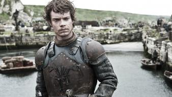 Of thrones tv series hbo theon greyjoy wallpaper