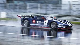 Rain cars ford gt gt40 wallpaper