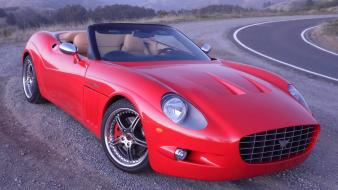 Red cars vehicles sports anteros front angle view wallpaper