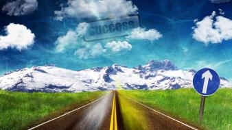 Road to success wallpaper