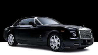 Rolls royce black cars wallpaper