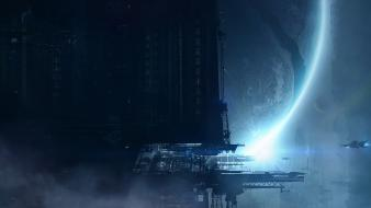 Science fiction artwork wallpaper