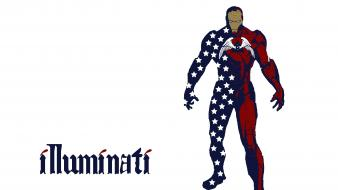 Stark illuminati illuminate marvel comics avengers fanart wallpaper