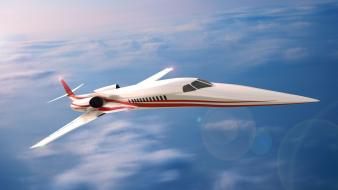 Supersonic plane wallpaper