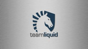The swarm team liquid ii simple background wallpaper
