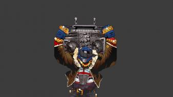 Transformers machines boombox gangster swag simple hood wallpaper