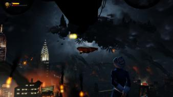 Video games computers bioshock screenshots infinite spoilers Wallpaper
