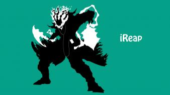 Video games ipod league of legends thresh wallpaper