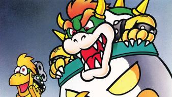 Video games super mario world bowser wallpaper