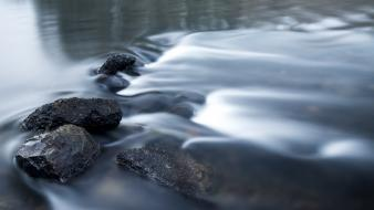 Water stones rivers wallpaper
