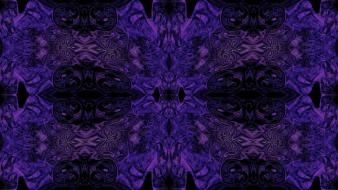 Abstract fractals purple patterns textures psychedelic wallpaper