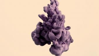 Abstract purple fluid the temper trap wallpaper