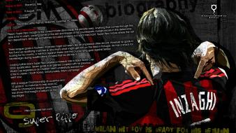 Ac milan filippo inzaghi football star super pippo wallpaper