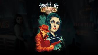 Bioshock infinite booker dewitt burial at sea dlc wallpaper