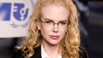 Blue eyes actress redheads glasses nicole kidman Wallpaper