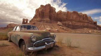 Buick cars deserts wallpaper