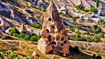 Cappadocia turkey landscapes nature wallpaper