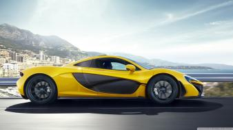 Cars 2014 side view mclaren p1 wallpaper