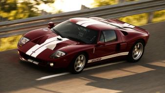 Cars ford gt red Wallpaper