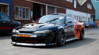 Cars nissan s15 drift driftworks wallpaper