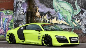 Cars tuning performance audi r8 static v10 wallpaper