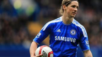 Chelsea fc fernando torres premier league football player wallpaper