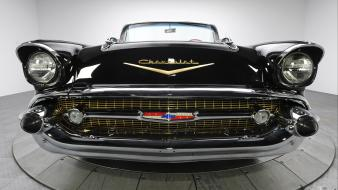 Chevrolet quad convertible bel air classic cars 1957 wallpaper