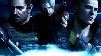 Chris redfield leon resident evil 6 jake wallpaper