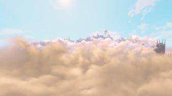 Clouds screenshots bioshock infinite wallpaper
