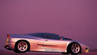 Concept side view prototype italdesign nazca c2 Wallpaper