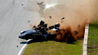 Crash lemans nissan deltawing wallpaper