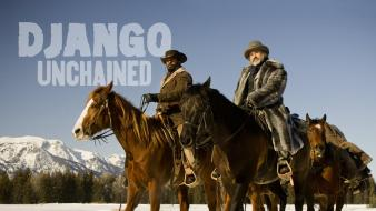 Django unchained dr king schultz jamie foxx wallpaper