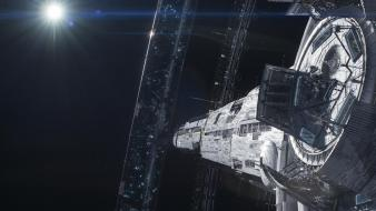 Elysium space station wallpaper