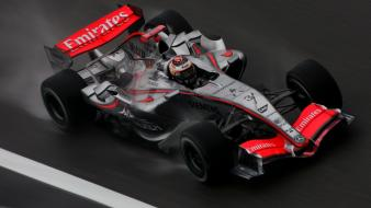 Formula one mclaren kimi raikonnen mercedes-benz racing cars wallpaper