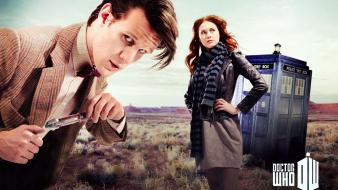 Gillan amy pond eleventh doctor who shows wallpaper