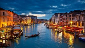 Italy venice birds mountains nature wallpaper