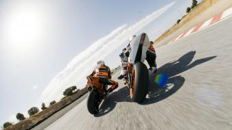 Ktm motorcycles stunt wallpaper