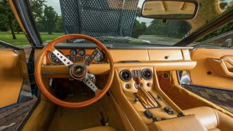 Lamborghini jarama 400 gt us-spec cars interior wallpaper