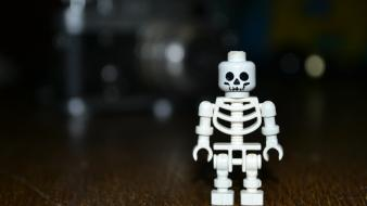 Legos stand alone black bones old wallpaper