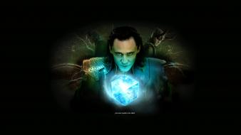 Loki tom hiddleston the avengers (movie) wallpaper