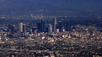 Los angeles buildings cityscapes skylines wallpaper