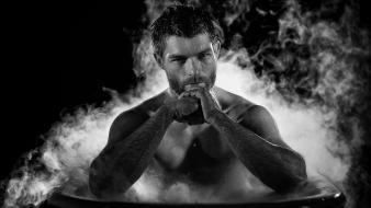 Men spartacus actors liam mcintyre wallpaper