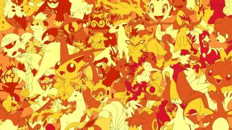 Pokemon video games fire wallpaper