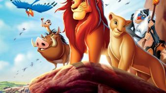 Pumba rafiki scar (disney) the lion king wallpaper