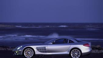 Side view mercedes-benz mercedes slr class wallpaper