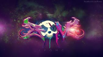 Skrillex artwork dubstep galaxies graffiti wallpaper