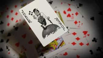 The joker playing cards wallpaper