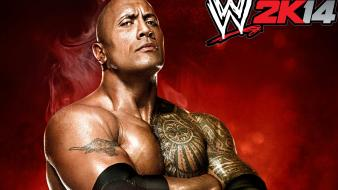 The rock wwe world wrestling entertainment game wallpaper