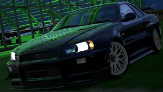 Turismo 5 ps3 nissan skyline r34 gt-r wallpaper
