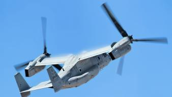 V-22 osprey aircraft aviation helicopters wallpaper